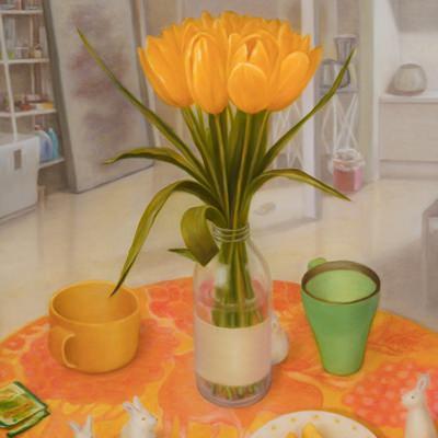 [A0158-0047] Tulip over day_Park's studio