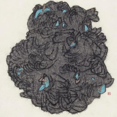 [A0159-0004] 이끼핀 돌
