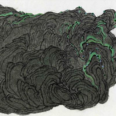 [A0159-0005] 이끼핀 돌