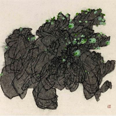 [A0159-0007] 이끼핀 돌
