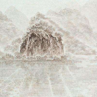 [A0162-0021] 여행산수(중국 계림)