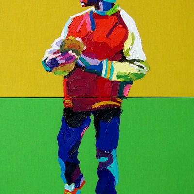 [A0164-0019] Boy with glove