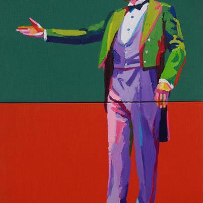 [A0164-0039] Man in tuxedo