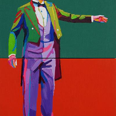 [A0164-0040] Man in tuxedo 2