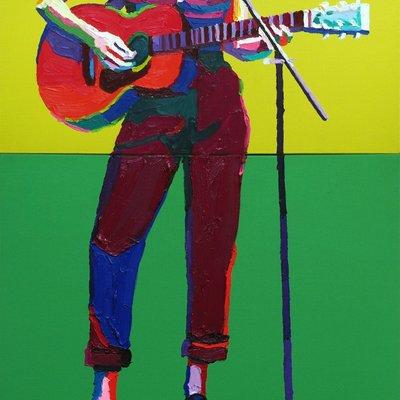 [A0164-0099] the Guitarist