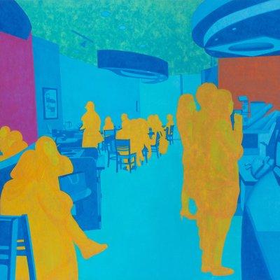 [A0168-0001] Blue-서울의 카페