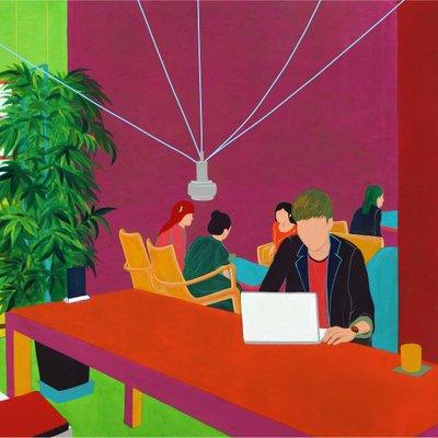 [A0168-0016] Café-Intimate Relationship