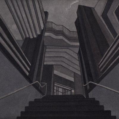 [A0168-0036] 색의 연상 : Hotel Grey Series1