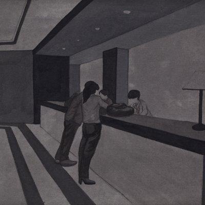 [A0168-0037] 색의 연상 : Hotel Grey Series2