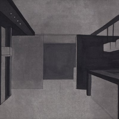 [A0168-0040] 색의 연상 : Hotel Grey Series5