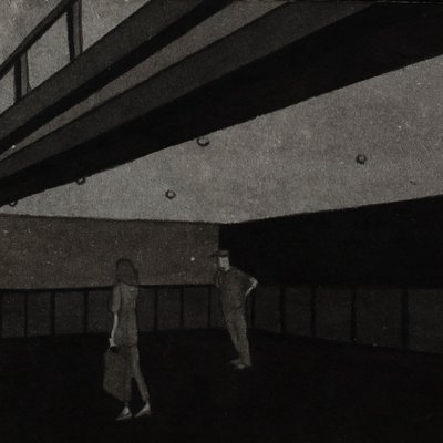[A0168-0048] 색의연상: hotel grey series8