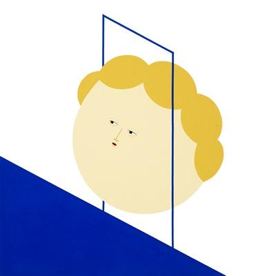 [A0171-0021] 보이지 않는 벽(blue)