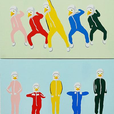 [A0174-0014] 조화(鳥化)의 춤