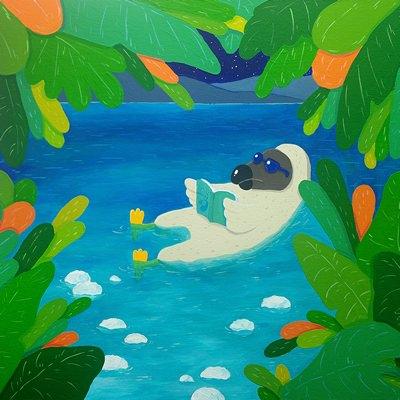 [A0174-0077] Dodo in the dead sea