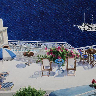 [A0181-0037] Another World 2 (Santorini Island) 또다른 세상 2 (산토리니에서)