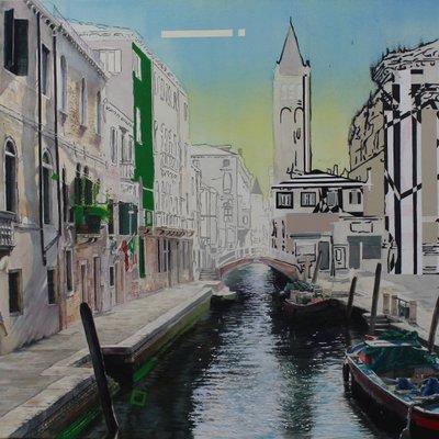 [A0181-0047] 베네치아의 아침
