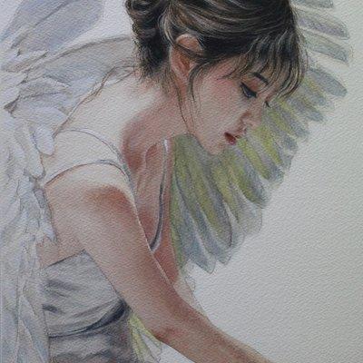 [A0181-0053] 천사 series  : 당신에게 축복을 2