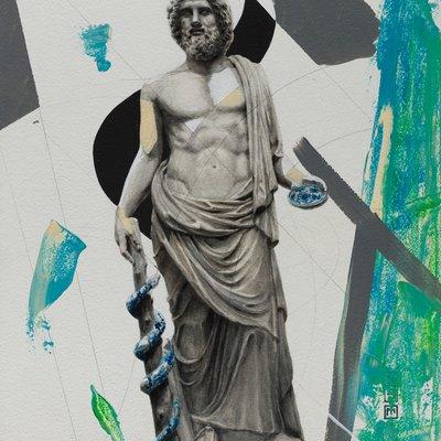 [A0181-0056] 신화와 전설 series 1 : 치유의 신 아스클레피오스