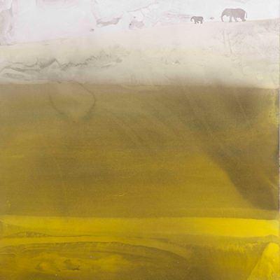 [A0184-0034] 산수, 노닐기 -정경(情景)