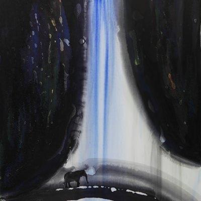 [A0184-0036] 산수, 노닐기 -정경(情景)