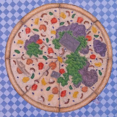 [A0186-0003] Delicious Scape (Pizza)
