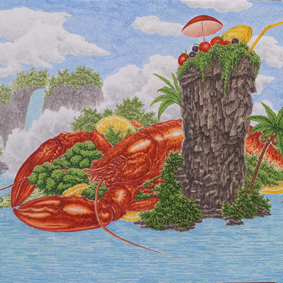 [A0186-0017] Delicious Scape (Lobster)