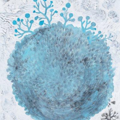 [A0188-0033] blue-gray Ball