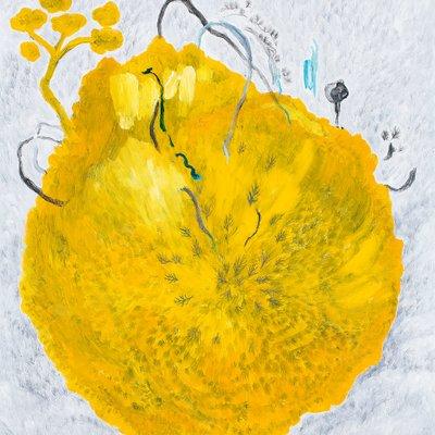 [A0188-0034] yellow Ball