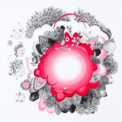 [A0188-0065] 꽃 피는 산