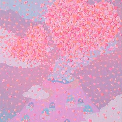 [A0192-0050] Love volcano♥