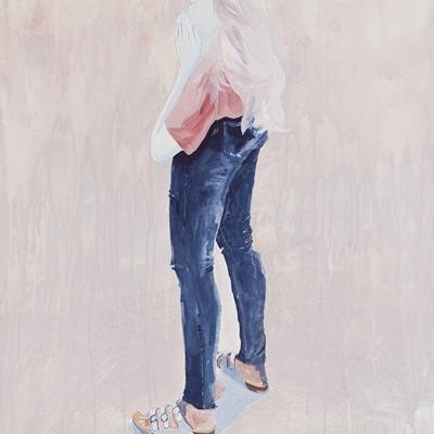 [A0195-0017] 다리가 긴 여자