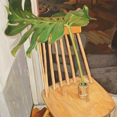 [A0197-0048] 식물의자