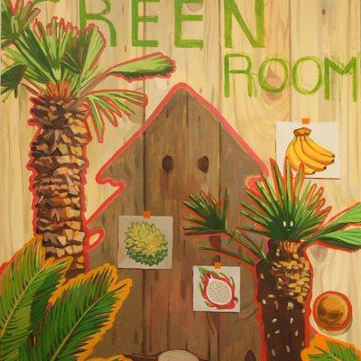 [A0197-0064] Green Room
