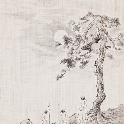 [A0210-0023] 상허(尙虛) · 근원(近園) · 수화(樹話), 달을 그리다 / SangHeo, KeonWon and Whanki are drawing the moon