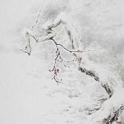 [A0210-0028] 설매(雪梅) / Plum Blossom in the snow