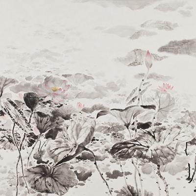 [A0210-0030] 연꽃(蓮) / Lotus Flower