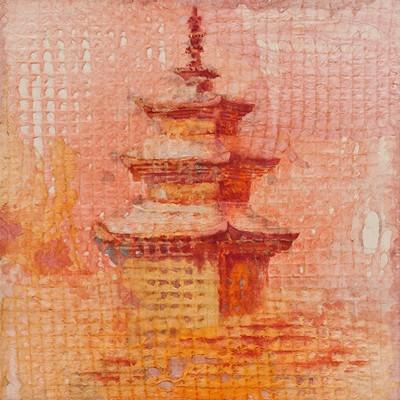 [A0210-0048] 표충사 삼층석탑