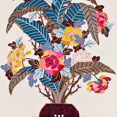 [A0214-0009] 길상(吉祥)-행복꽃