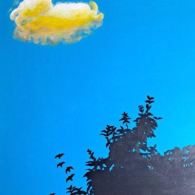 [A0232-0028] 현실과 이상-구름