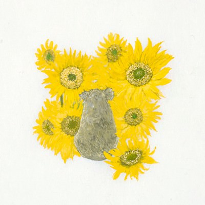 [A0235-0009] 내 인생은 꽃밭(My life is flower garden)