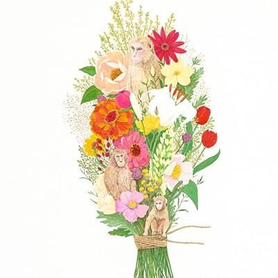 [A0235-0024] 내 인생은 꽃밭(My life is flower garden)