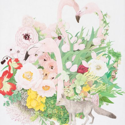 [A0235-0039] 내 인생은 꽃밭(my life is flower garden)