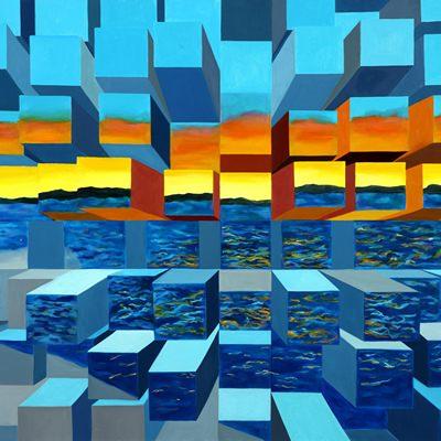 [A0254-0022] Sunset