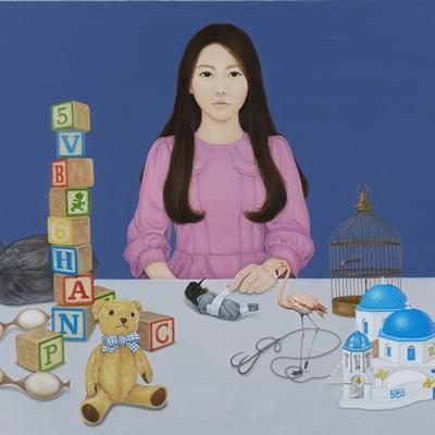 [A0257-0006] 소녀의 책상
