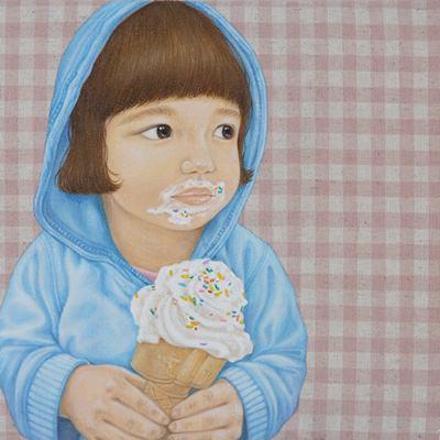 [A0257-0033] 아이스크림 소녀3