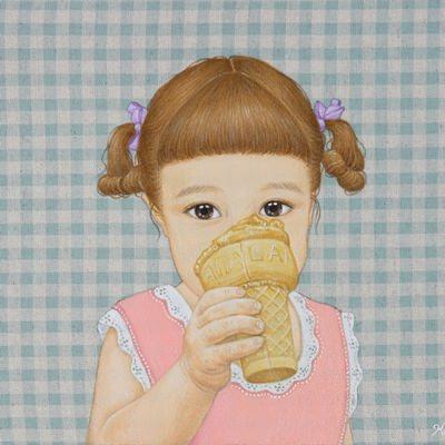 [A0257-0034] 아이스크림 소녀4