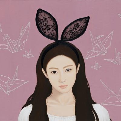 [A0257-0056] 토끼소녀와 종이학