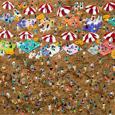 [A0258-0016] Sand Festival