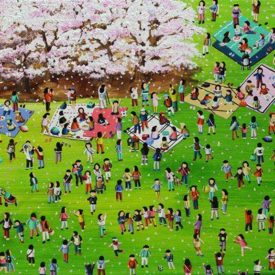 [A0258-0026] Cherry blossom