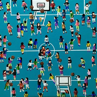 [A0258-0028] Basketball